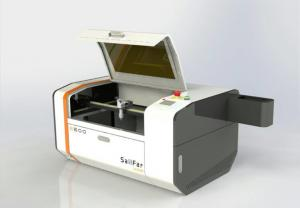China Small 50W Miniature Laser Engraving Machine , Industrial Laser Cutter Engraver on sale