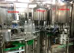 Small Bottle Washing Filling Capping Machine For Complete Water Filling Line