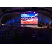 P4.81mm HD Outdoor LED Video Wall For DJ / Festive , LED Flexible Display Rental