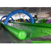 Funny Inflatable Slip N Slide Water Slides Street 1200m Long Slip And Slide
