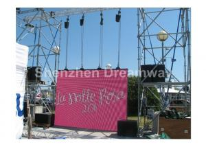 China Outdoor LED Screen Rental High Resolution P10 Aluminum LED Box with 1R1G1B on sale