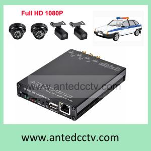 China Full HD Mobile DVR 1080P, WIFI Vehicle CCTV DVR recorder with GPS 3G on sale