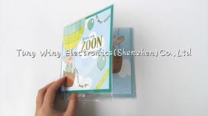 China Holiday Musical recorded greeting cards for holiday gift , invitation on sale