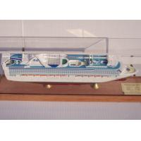 OEM ODM Princess Cruise Ship Models With Injection Mold Making Anchor Material