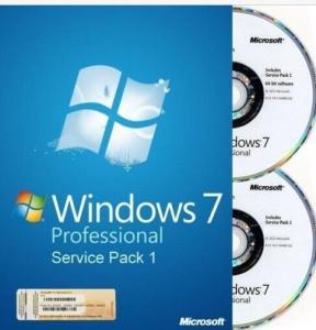China microsoft windows 7 professional 32 bit full version DVD with 1 SATA Cable on sale