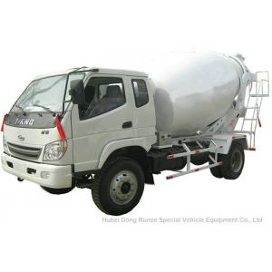 China T. King Chassis Concrete Mixer Truck 2 CBM , Ready Mix Cement Trucks on sale