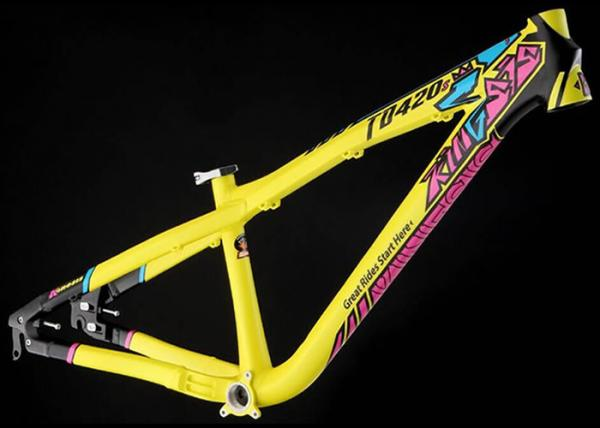 TD420S Dirt Jump/BMXAluminum Bike Frame, DJ/Hardtail Mountain Bike ...