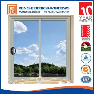 China Aluminum Framed Double Glazed Sliding Window with mosquito screen with Australian standard 2047 with AS2208 &AS1288Requirement on sale