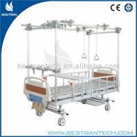 China Double Column Orthopedic Hospital Bed / Manual Hospital Beds For Disabled on sale