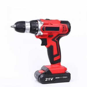 China Fast Charger 21V Cordless Drill Deals High Performance For Home Decoration on sale