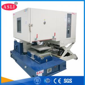 China TUV Environmental Shaker Vibration Test / Combined Climatic Temperature Humidity And Dynamic ( Vibration / Shock ) Test on sale