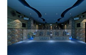 China Electrical / hydraulic / pneumatic XD Theatres with luxury design and perfect fusion effect on sale