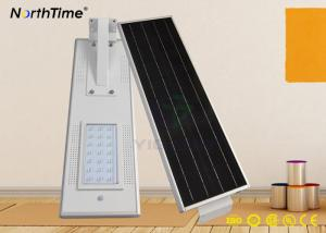 China Motion Sensor Solar Energy LED Street Lights Rechargeable Lithium Battery ROHS IP65 on sale