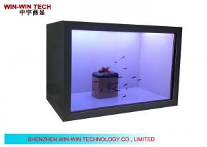 China HD Transparent Screen LCD Advertising Player on sale