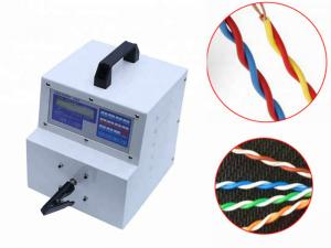 China Bench Top Stable Twist Wire Machine Easy Operation Freely Adjustable Twist Cycles on sale