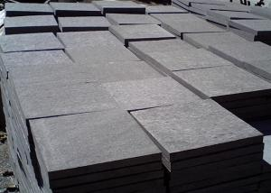 China Black Granite Step Treads For Stair Step Polished / Other Finish Surface on sale