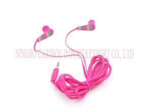China In-ear Earphone Mp3 Ear Phones 3.5mm Stereo HIFI Headphone Wired Sport Earphone on sale
