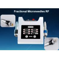 Portable Therma Microneedle Fractional RF Acne Scar Removal Facelift Machine