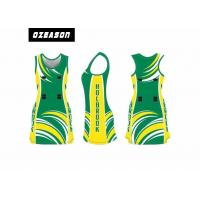China Custom Sublimated Netball Dress Uniform For Girl Moisture-Wicking on sale