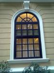 Foshan factory price high quality fiberglass resin windows for buidling decorations
