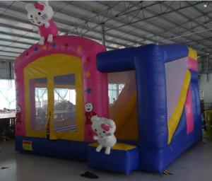 China hello kitty inflatable bouncy castle on sale