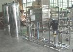 2000 LPH Purified Drinking Water Production plant , 2T RO Desalination System