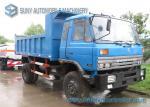 車軸10000kgs 15000kgs廃棄物管理のごみ収集車のDongfengの2つのシャーシ