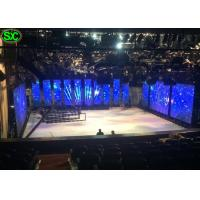 Advertising 3mm Led Video Wall Rental For Live Show / Ultra Thin Led Display Rgb