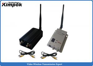 China 5000mW Wireless Video Link 1.2G AV Transmitter and Receiver for Unmanned Aerial Vehicle on sale