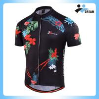 China Factory  wholesale quick dry breathable polyester sublimation cycling jersey mountain bike shirt for men