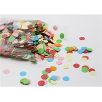 China Small Round Gummed Paper Spots Bio - Degradable For Handwork Party Decoration on sale