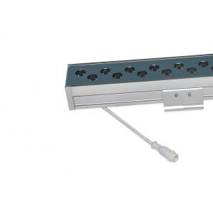 China 1000mm Dynamic Linear Wall Washer Lamp with 48 or 54pcs LED and Adjustable Bracket on sale