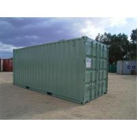 Used Steel Storage Containers / Second Hand Sea Containers 5.90m * 2.35m* 2.39m