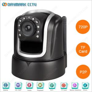 China CMOS 720p Pan Tilt Remote Control Iphone Adroid Network Camera on sale