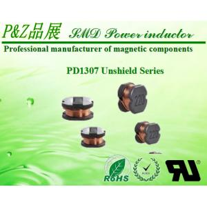 China PD1307 Series 10μH~1000μH SMD Unshield Power Inductors Round Size on sale