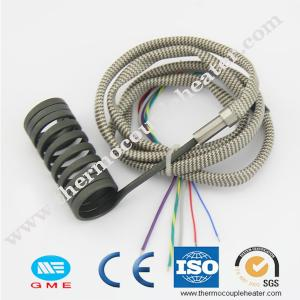 China Injection Moulding Coil Heater With Thermocouple J Type / Electric Tube Heaters on sale