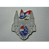 High Quality High 3D Relief Zinc Alloy Rhinestone Medal with Gold And Antique Nickel Plate
