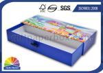 Caixa de presente rígida da gaveta do cartão do retângulo feito sob encomenda para o sabão/vela/empacotamento cosmético