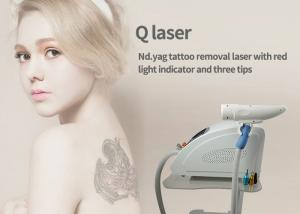China Q Switched Laser Tattoo Removal Equipment , Laser Tattoo Machine 1320nm on sale