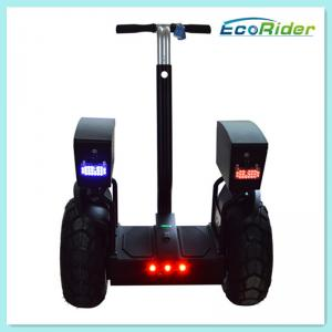 China Dos vehículo eléctrico de equilibrio de equilibrio rodado del uno mismo de la rueda de la vespa 2 para patrullar on sale