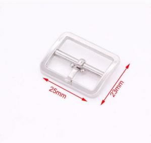 China Silver Metal Shoe Buckles Replacement , Decorative Shoe Buckles With Engraved Logo on sale