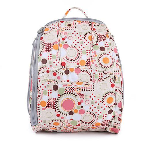 aefe99e30963 Custom Daddy Diaper Bag Backpack Polyester Ripstop Larger Capacity Wipe  Clean Images