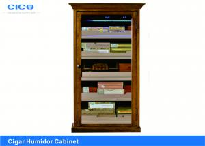 China Compact Cigar Humidor Cabinet Customized Color High Efficient Evaporator on sale