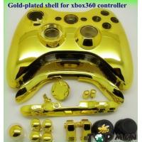 Golden-plated shell for xbox360 controller