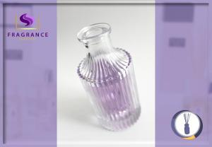 China Round Aroma 180lm Essential Oil / Perfume Glass Diffuser Bottles on sale