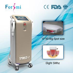China Big Spot size shr hair removal machine on sale on sale