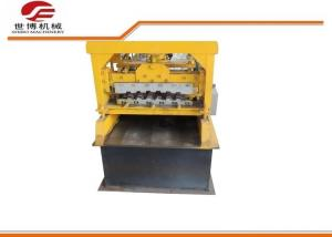 China Hydraulic Cutting Color Steel Sheet Roller Shutter Door Forming Machine on sale