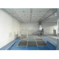 China High Precision Garage Outdoor Spray Booth Combined Pneumatic Ramp on sale