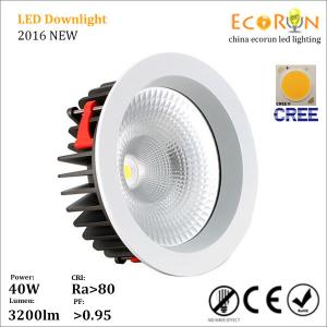China hot sale 40w IP42 led downlight cob 220v for furniture cabinet living room fast shipping on sale