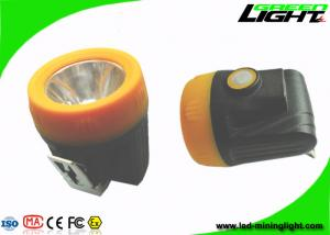 China Waterproof IP68 Cordless Mining Cap Lamps 10000 Lux ABS Material With USB Charger on sale
